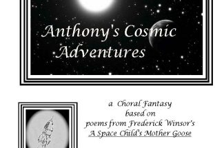 """The cover for """"Anthony's Cosmic Adventures,"""" which includes music by John Metz."""